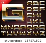 vector illustration of golden...   Shutterstock .eps vector #157671572