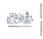 biogenetic concept  science... | Shutterstock .eps vector #1576721452