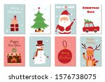 set of different christmas... | Shutterstock .eps vector #1576738075