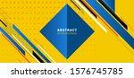 modern geometric abstract... | Shutterstock .eps vector #1576745785