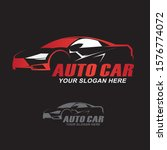 car and speed automotive logo... | Shutterstock .eps vector #1576774072