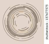 abstract circle background | Shutterstock .eps vector #157677575