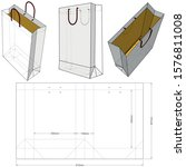 shopping bag  internal... | Shutterstock .eps vector #1576811008