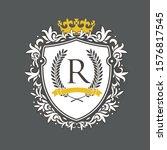 coat of arms. heraldic royal...   Shutterstock .eps vector #1576817545