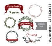 merry christmas. beautiful... | Shutterstock .eps vector #1576826698