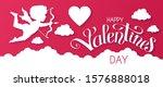 Happy Valentine's Day  Papercut ...