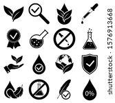 No Dye Added Set Icons  Logo...
