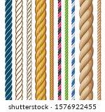 ropes set. cartoon illustration ... | Shutterstock . vector #1576922455