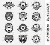 sports logo badge   label | Shutterstock .eps vector #1576925305