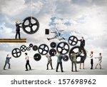 conceptual image of...   Shutterstock . vector #157698962