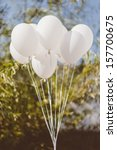 wedding balloons | Shutterstock . vector #157700675
