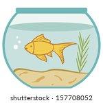 Goldfish In A Bowl  Aquarium