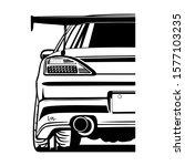 vector japans draft cars....   Shutterstock .eps vector #1577103235