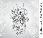 vector illustration of a floral ...