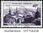 france   circa 1951  a stamp... | Shutterstock . vector #157716218