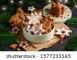 Christmas Gingerbread Stars...