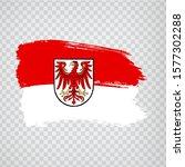 flag of brandenburg brush...