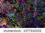 black background colorful... | Shutterstock . vector #1577310232