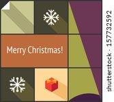 christmas decorative icon set...