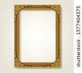 decorative vintage frame and... | Shutterstock .eps vector #1577404375