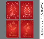 illustration of a merry... | Shutterstock .eps vector #1577409265