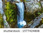 Waterfall In Mt Rainier...