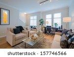 interior design of a luxury... | Shutterstock . vector #157746566