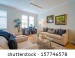 interior design of a luxury... | Shutterstock . vector #157746578