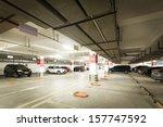 underground parking | Shutterstock . vector #157747592