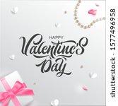 vector illustration. happy... | Shutterstock .eps vector #1577496958