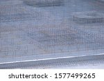 iron construction wires and... | Shutterstock . vector #1577499265