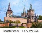 repaired historical center of... | Shutterstock . vector #1577499268