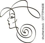 vector illustration beauty... | Shutterstock .eps vector #1577594608