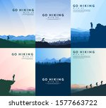 vector brochure cards set.... | Shutterstock .eps vector #1577663722