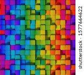 Seamless Pattern Of Vivid...