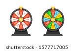 set of wheels of fortune...   Shutterstock .eps vector #1577717005