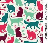 seamless pattern of nicecolors...   Shutterstock .eps vector #1577717032