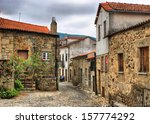 Old Rural Village Of Linhares...