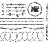 Barb Wire Collection With Razor ...
