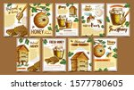 bee insect  wild and wooden... | Shutterstock .eps vector #1577780605
