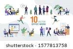business team office work... | Shutterstock .eps vector #1577813758