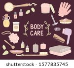 body care set of toiletries.... | Shutterstock .eps vector #1577835745
