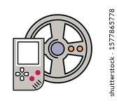 video game portable with car...