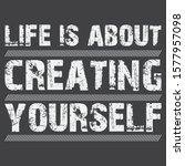 inspirational and motivation... | Shutterstock .eps vector #1577957098