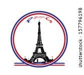 paris | Shutterstock .eps vector #157796198