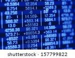 finance data concept | Shutterstock . vector #157799822