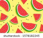 Watermelon Pattern For...