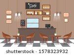 modern cafe coffee shop... | Shutterstock .eps vector #1578323932