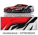 sports car decal wrap design... | Shutterstock .eps vector #1578338242