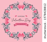 various card of valentine day ... | Shutterstock .eps vector #1578428812